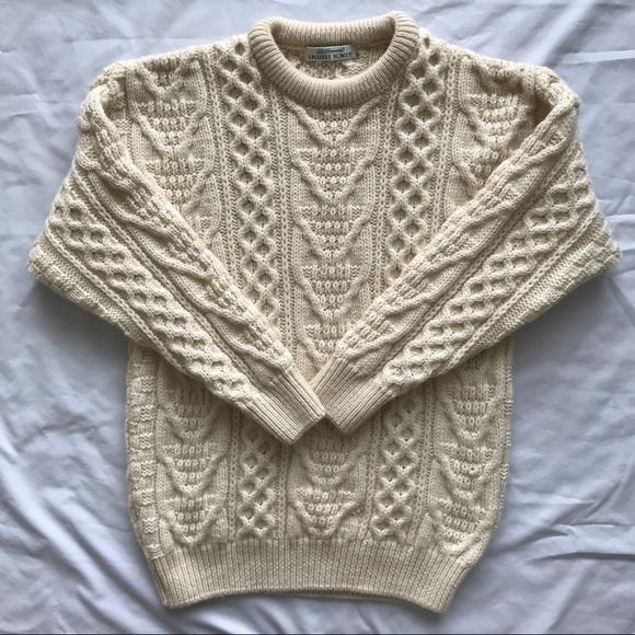 St Bernard Sweaters Mens St Bernard Wool Irish Knit Sweater